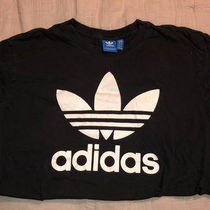 Adidas black originals t shirt